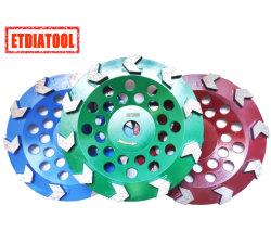 Flèche de diamants de la Coupe du disque de meulage des roues pour le béton de granit de marbre