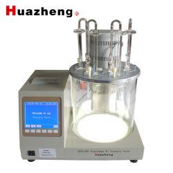 Probador automático de la viscosidad cinemática de petróleo líquido aceite Dispositivo de medición de prueba