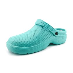 Greatshoe zuecos de quirófano del hospital médico de medicina, enfermería zapatos zuecos de goma