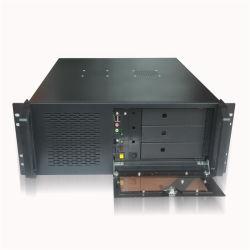 """4uコンピュータの箱ATXの賭博のパソコンサーバー箱の産業ラックマウント式ネットワーク19 """"ラックキャビネットの箱4UC"""