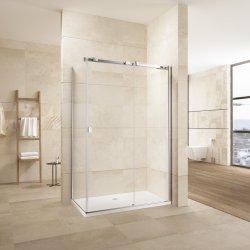 Ausgeglichenes Glas-Ecke Rectengle Schiebetür-Dusche-Gehäuse