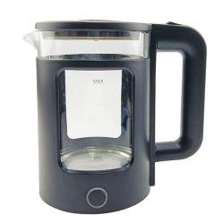 Cool Touch bouilloire électrique en verre avec arrêt automatique et faire bouillir la protection, 2.0Liter blanc sec