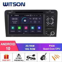 Auto-Video-Player des Witson Android-10 für Audi A3 (2003-2013) Radio-GPS Multimedia