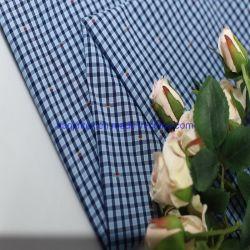 100% قطر تدقيق أسلوب مغزول يصبغ بناء لأنّ لباس داخليّ قميص