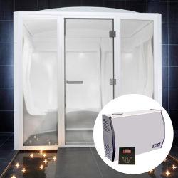 Wet Eletricidade Vapor gerador de vapor de recuperação de calor para banheiro
