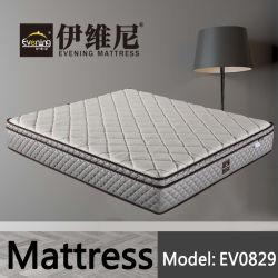 В Итальянском стиле трикотажные ткани высокая плотность пенки независимые пружинные матрасы кровать