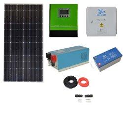 نظام الطاقة الشمسية الهجين على عاكس الشبكة بقدرة 10000 واط يعمل بالطاقة الذكية، وPV العامل بالطاقة الشمسية سعر المحول