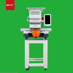 Bai New Single Head High Speed Automatic Factory Multifunktional Computerisiert Stickerei Nähmaschine für Cap T-Shirt Flat Patch Handtuch