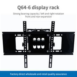 Braço Duplo Suporte Giratório de inclinação do suporte LCD Full Motion TV na parede para 32 - 70 polegadas