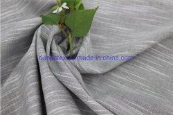 Hilado teñido de telas de color gris T/C para Shirting