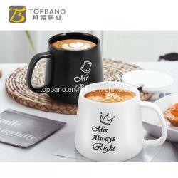 Marmol tazas de cerámica de porcelana personalizada chapado en oro Señora Señor amante de la pareja de viaje el regalo de promoción de la Taza de Té de China