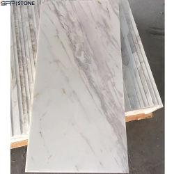 جديد محجرة [م231] [فولكس] حجارة بيضاء رخاميّة طبيعيّ يصقل [فلوور تيل] لأنّ زخرفة