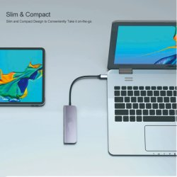 Portátil ultra fino 4 porta USB Multi 3.0 Hub USB, teclado mouse Phone Flash Drive USB de carregamento de dados divisor para computador