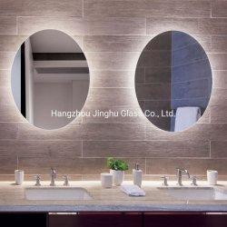Hotel La decoración del hogar en la pared espejo decorativo espejo iluminado con retroiluminación LED iluminado espejo del baño