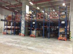 Mezzanine de acero de alta resistencia estantería para almacenamiento de nave industrial