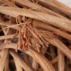 Alta calidad de chatarra de cable de cobre de alta pureza del 99,95%- el 99,99%