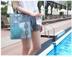 Juguetes de playa Piscina bolsa de malla Tote Bags Caracol bolsa de playa bolsa impermeable