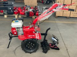 Mini-roterende tuinfrees/dissel/kleine landbouwmachine/9 pk-cultivator
