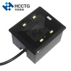 RS232 2D QR Barcode Scanner OEM Fixed Reader módulo para Dispositivos de autoservicio (HS-2003c)