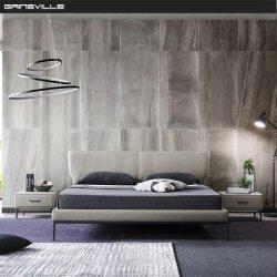 Верхняя продавец современной мебелью с одной спальней кинг сайз с помощью тонкой изголовье кровати