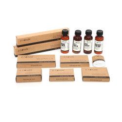 공장 도매 목욕탕 유기 호화스러운 예의는 처분할 수 있는 개인화한 호텔 목욕탕 예의 장비 대나무 세면용품을 놓는다
