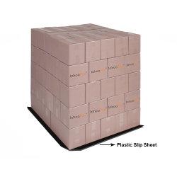Plegable de HDPE de alta calidad de plástico de patinaje de la hoja 4-Formas Palet