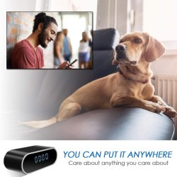 A gravação de câmaras de segurança de 1080p sem fio para as câmaras de relógio de vigilância em casa