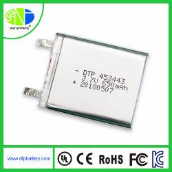 電池車 3.7V Lipo 電池 Dtp453443650mAh 電気 + 自転車 + 電池