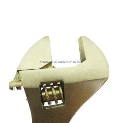 4-24 pulgadas sin desencadenar una llave ajustable a prueba de explosión Non-Magnetic resistente a la corrosión de las herramientas disponibles