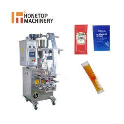 L'EAU AUTOMATIQUE/ lait / jus /Shampooing/ miel/Sauce tomate/ de l'huile de moutarde / sachet en plastique liquide beurre petite machine de conditionnement d'emballage Prix verticale