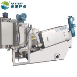 Tipo de parafuso máquina desidratação de lamas de tratamento