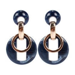 De ronde Juwelen China van de Manier van de Oorringen van de Juwelen van de Dames van de Hars van de Legering van de Cirkel Acryl