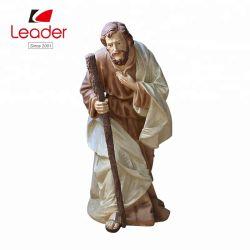 Neue Polyresin Figürchenjesus-fromme Statue-im FreienGeburt Christi-Set