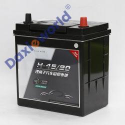 Precio de la fabricación de automóviles de metal de litio de energía Batería 12V 20Ah 30ah 40ah ah 50 60ah adecuado para iniciar y detener y el encendido de varios coches detener&Contacto