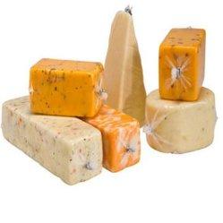 Водонепроницаемый PA/PE сыр пластиковой упаковки термоусадочной пленки мешок