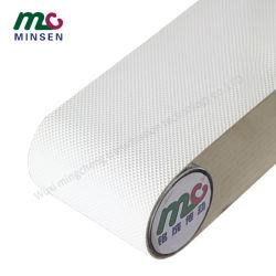 Fabbrica alta qualità alimentare grado Bianco Diamante PU / PVC Personalizzazione del nastro trasportatore