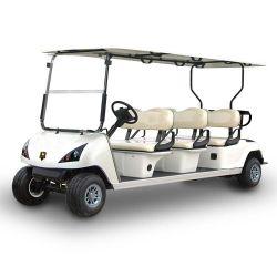 Electric Sporting Goods Voiture de golf avec 6 places Blanc Rouge (DG-C6)