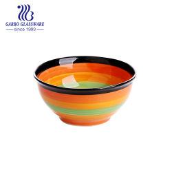Rainbow en grès coloré autocollant sur le Bol en porcelaine et céramique bols en porcelaine, de grands bols à soupe de céréales, bols, micro-ondes lave-vaisselle, Tc13011126/a