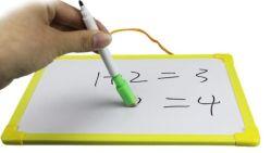 Fabrique de jouets des enfants fait sur mesure - toutes les tailles de tableau blanc de haute qualité des stylos et cartes de couleur blanc avec effaçable magnétique