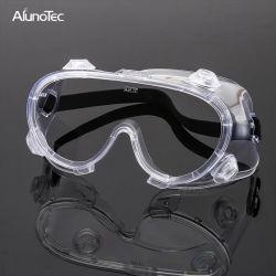 Bril van de Veiligheid van de Beschermende brillen van het Effect van de Plons van China de Chemische Beschermende Duidelijke