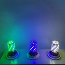 도매 실내 12W 2개의 라이트 화이트 웜 화이트 220V B22 E27 콘 LED 전구