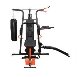 商業ジムフィットネスマルチ装置 3 台のスタンドステーションで、筋力を鍛うことができます トレーニングマシン総合チェストプレスホームジム