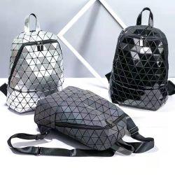 Женщин моды Diamond световой геометрической рюкзак лазерный дорожная сумка