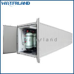 Contentor 100tpd dessalinização da água do equipamento de tratamento de água de osmose inversa