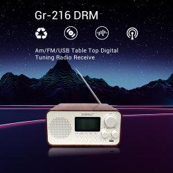 세계 악대를 가진 DRM/Am/FM USB 탁상용 디지털 조정 라디오 수신기