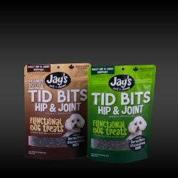 Kundenspezifisches Verpackungsdesign Druck von vertikalen PET Food Kunststoffverpackungen Tasche
