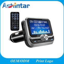 """1.8 """" des LCD-Bluetooth Übermittler MP3-Player-intelligenter Auto-FM Doppel-USB-Auto-Aufladeeinheit"""