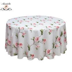 طاولة تغذية نسيج زهرة [بورنت-ووت] [أرغنزا] سماط عرس [تبل كلوث]