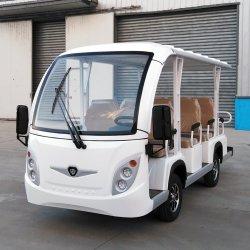 Alimentée par batterie de la route Classic Navette en bus Voiture électrique ci-jointe de visites avec ce certificat SGS