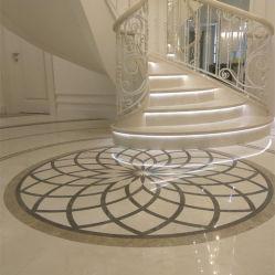 Home decor foyer rond Waterjet marmer voor vloeren